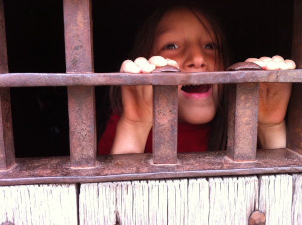 BalletBoy imprisoned in Colonial Williamsburg.