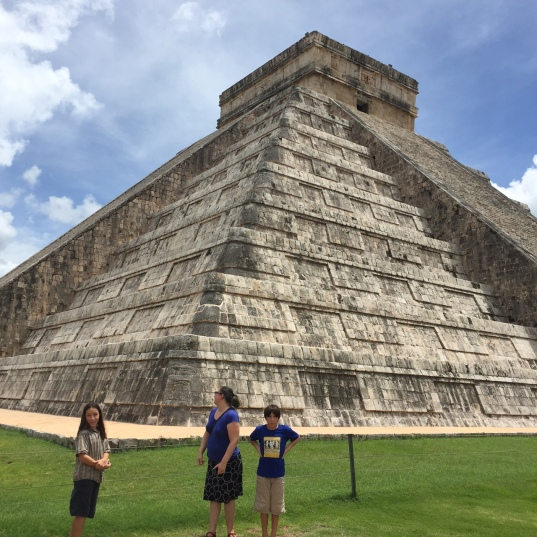Whoa! That's Chichen Itza! A great vacation this year.