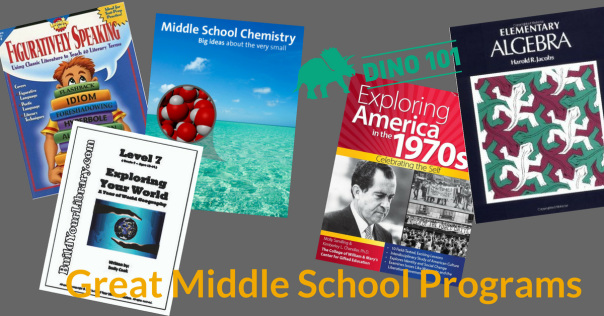 Some of My Favorite Middle School Curricula | I Capture the Rowhouse